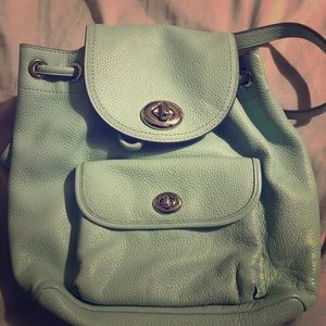 Coach a backpack Purse